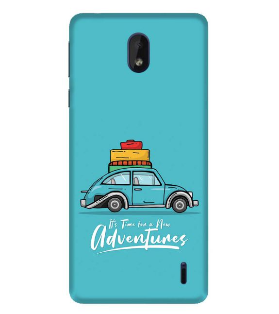 Time for Adventure Back Cover for Nokia 1 Plus