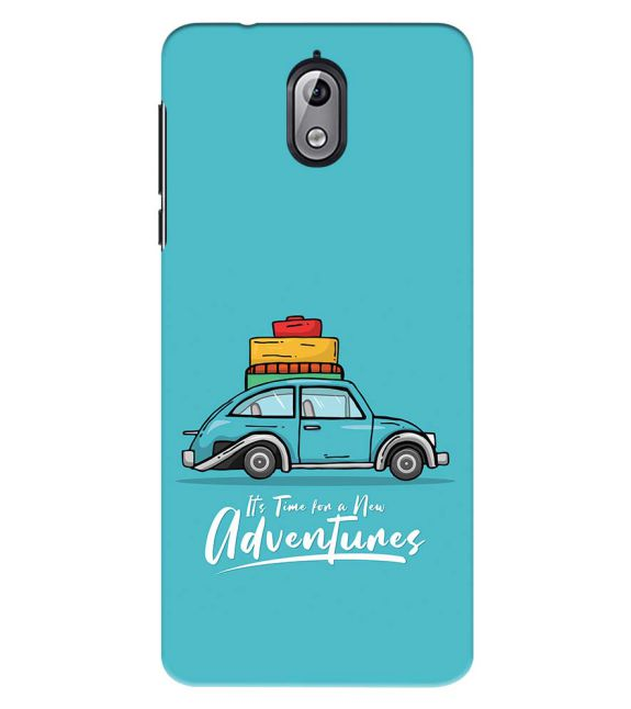Time for Adventure Back Cover for Nokia 3.1 (2018)