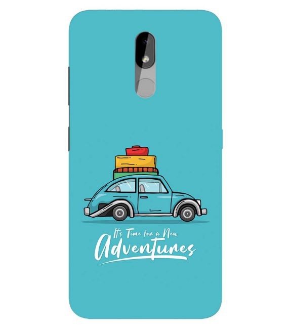 Time for Adventure Back Cover for Nokia 3.2