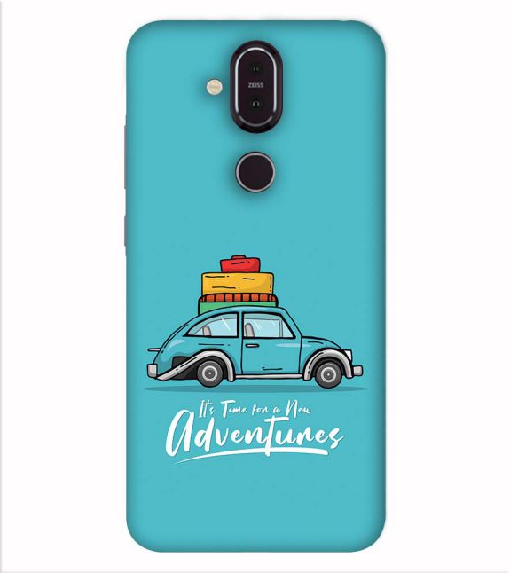 Time for Adventure Back Cover for Nokia 8.1 (Nokia X7)