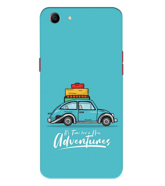 Time for Adventure Back Cover for Oppo A1