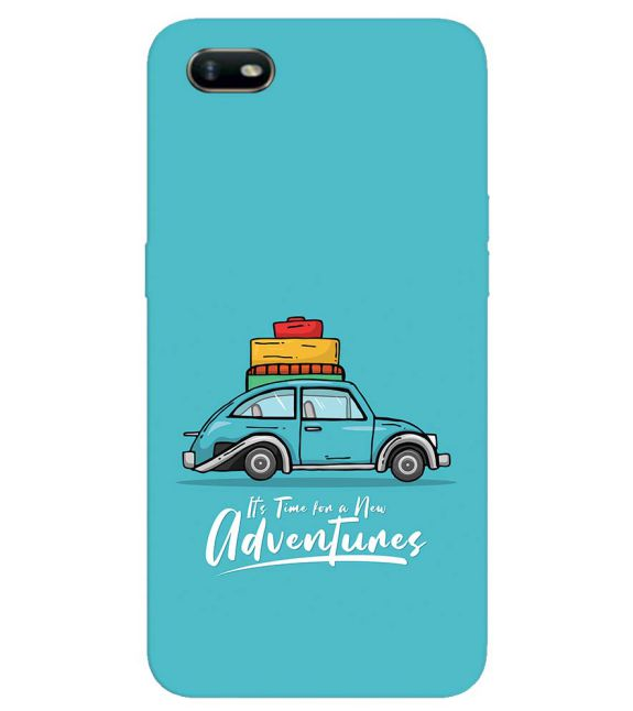 Time for Adventure Back Cover for Oppo A1k