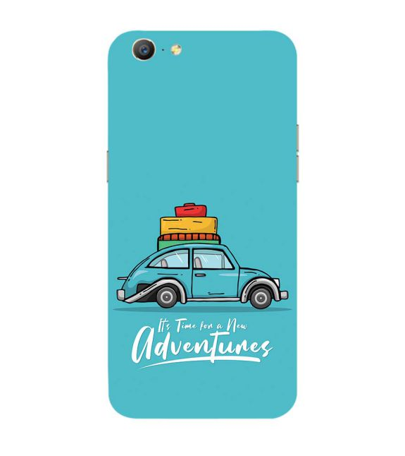 Time for Adventure Back Cover for Oppo A57 : A39