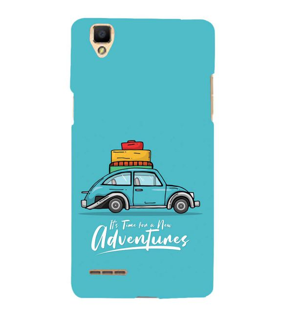 Time for Adventure Back Cover for Oppo F1
