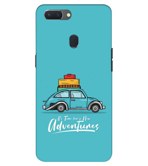 Time for Adventure Back Cover for Oppo Realme 2