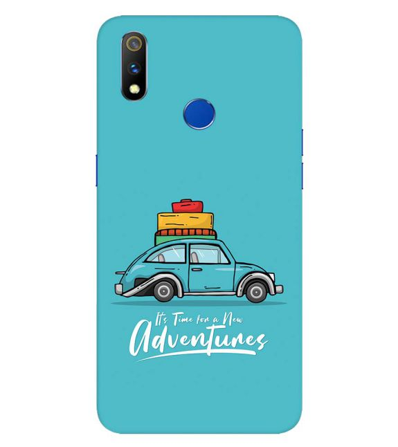 Time for Adventure Back Cover for Realme 3 Pro