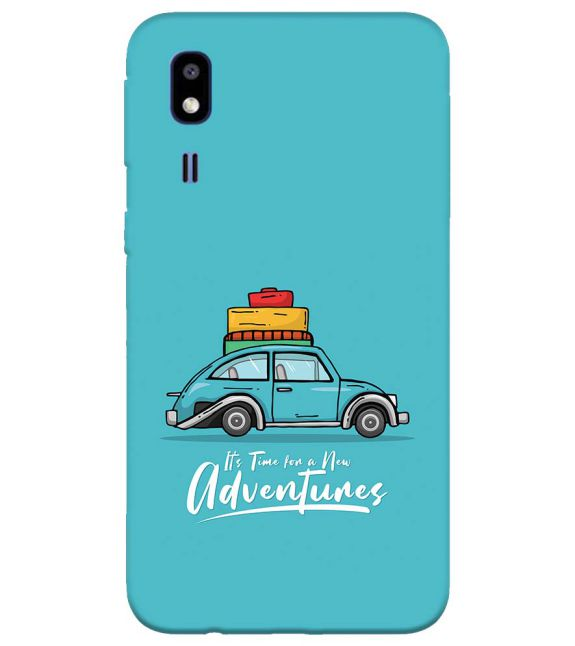 Time for Adventure Back Cover for Samsung Galaxy A2 Core