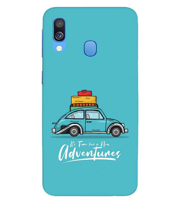 Time for Adventure Back Cover for Samsung Galaxy A40
