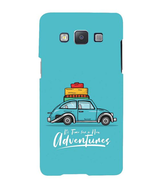 Time for Adventure Back Cover for Samsung Galaxy A7 (2015)