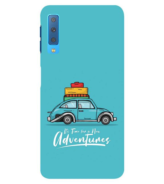 Time for Adventure Back Cover for Samsung Galaxy A7 (2018)