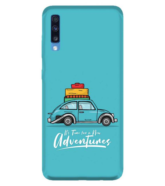 Time for Adventure Back Cover for Samsung Galaxy A70
