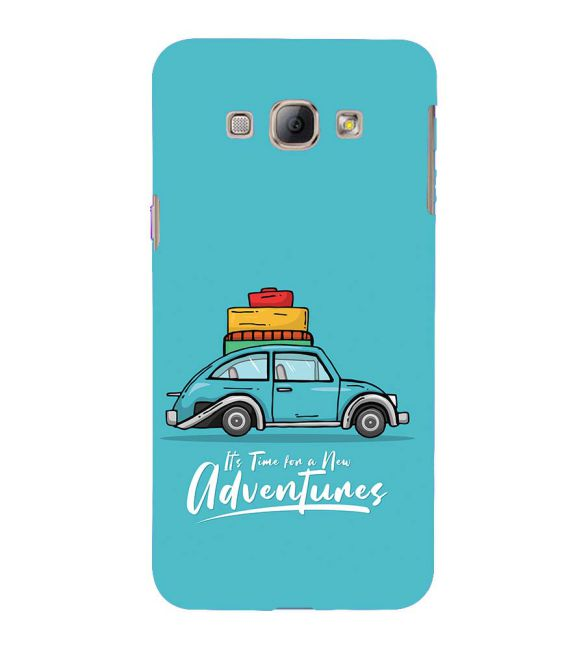 Time for Adventure Back Cover for Samsung Galaxy A8 (2015)
