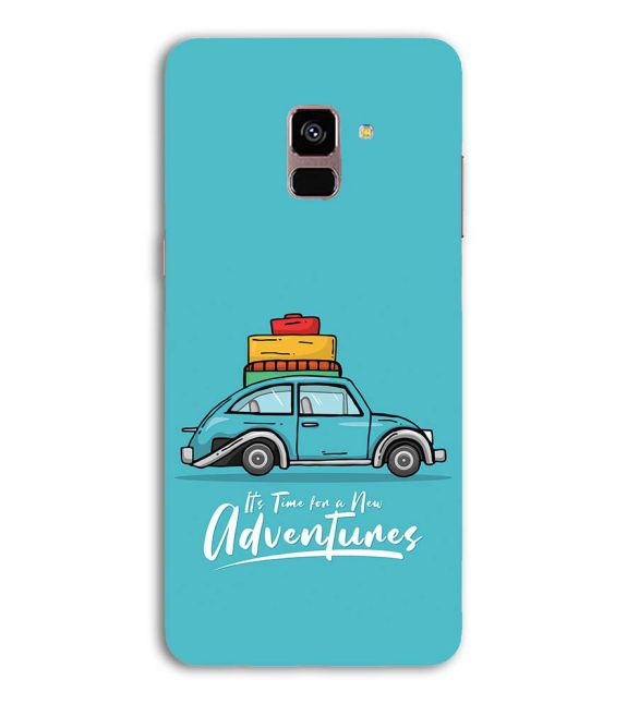 Time for Adventure Back Cover for Samsung Galaxy A8 (2018)