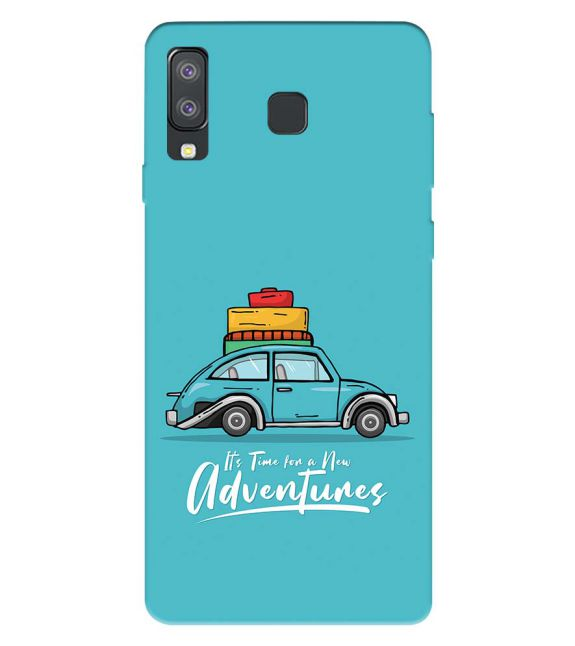 Time for Adventure Back Cover for Samsung Galaxy A8 Star