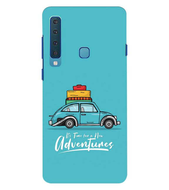 Time for Adventure Back Cover for Samsung Galaxy A9 (2018)