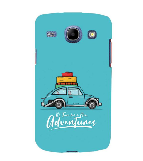 Time for Adventure Back Cover for Samsung Galaxy Core I8260