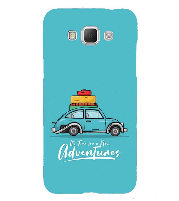 Time for Adventure Back Cover for Samsung Galaxy Grand Max G720