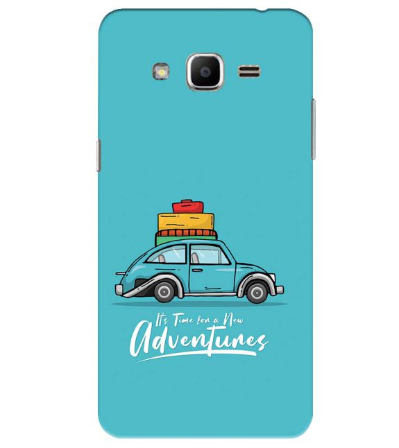 Time for Adventure Back Cover for Samsung Galaxy J2 Ace
