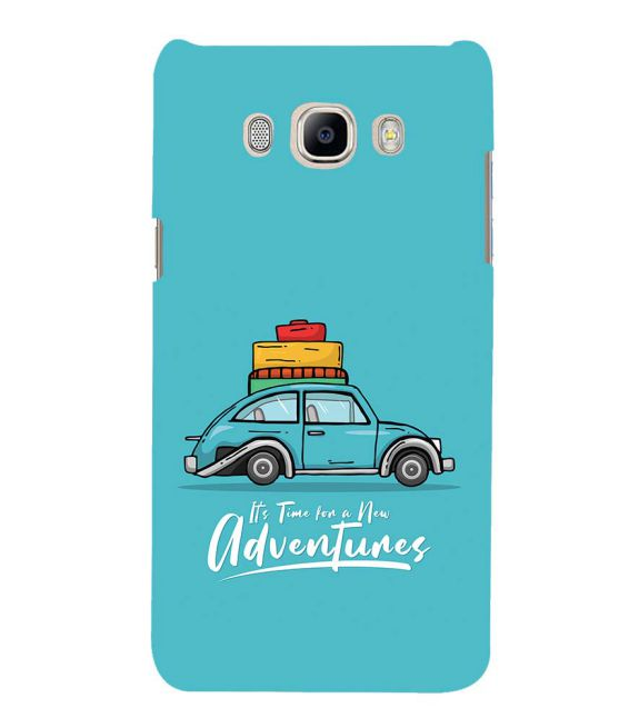 Time for Adventure Back Cover for Samsung Galaxy J7 (6) 2016 : Galaxy On 8