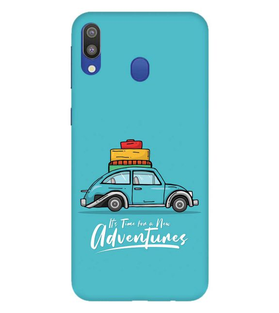 Time for Adventure Back Cover for Samsung Galaxy M20