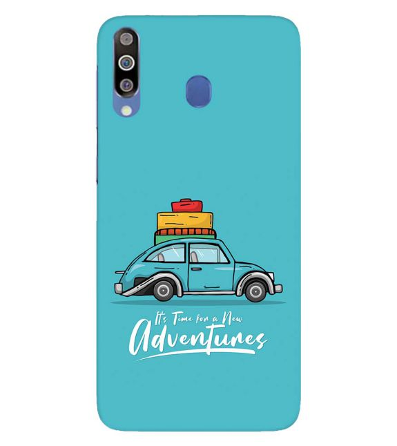 Time for Adventure Back Cover for Samsung Galaxy M30