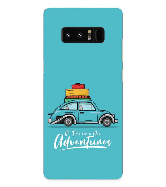 Time for Adventure Back Cover for Samsung Galaxy Note 8