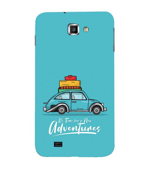Time for Adventure Back Cover for Samsung Galaxy Note N7000