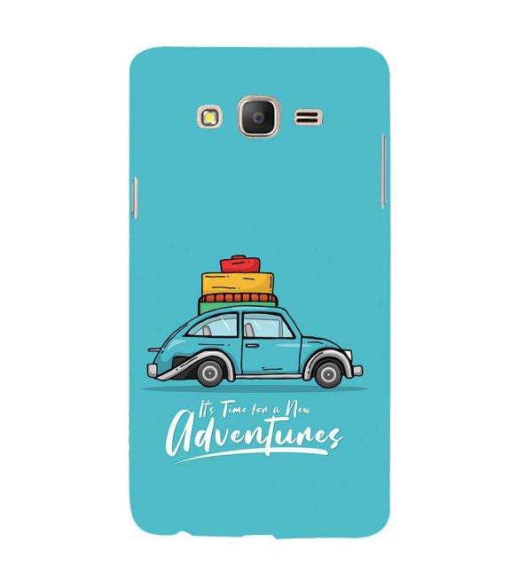 Time for Adventure Back Cover for Samsung Galaxy On7 and On 7 Pro
