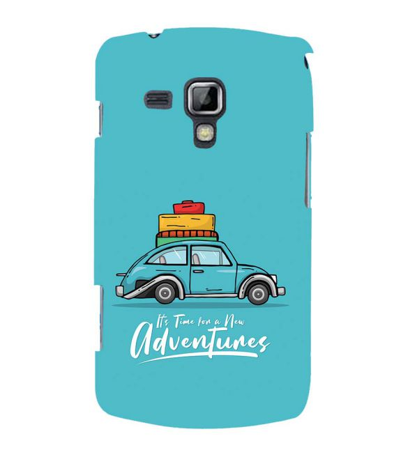 Time for Adventure Back Cover for Samsung Galaxy S Duos and S Duos 2
