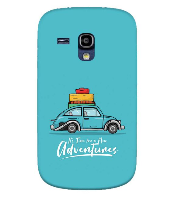 Time for Adventure Back Cover for Samsung Galaxy S3 Mini