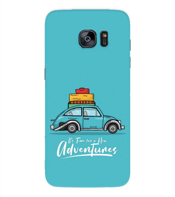 Time for Adventure Back Cover for Samsung Galaxy S7 Edge