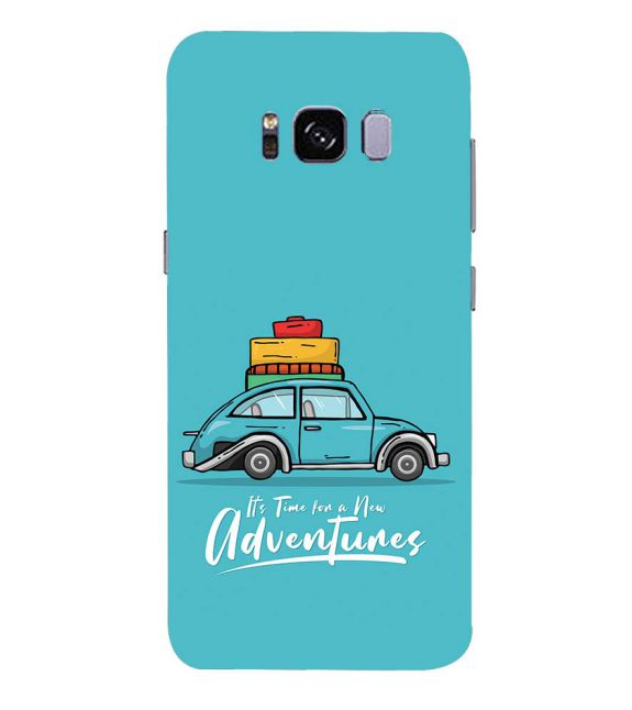 Time for Adventure Back Cover for Samsung Galaxy S8