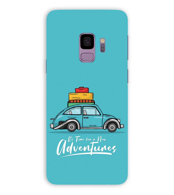 Time for Adventure Back Cover for Samsung Galaxy S9
