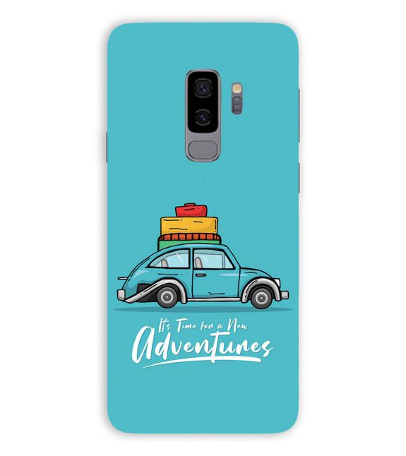 Time for Adventure Back Cover for Samsung Galaxy S9+ (Plus)