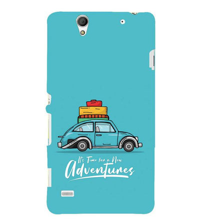 Time for Adventure Back Cover for Sony Xperia C4