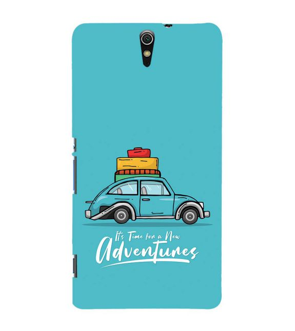 Time for Adventure Back Cover for Sony Xperia C5