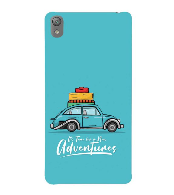 Time for Adventure Back Cover for Sony Xperia E5