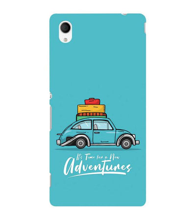 Time for Adventure Back Cover for Sony Xperia M4 Aqua