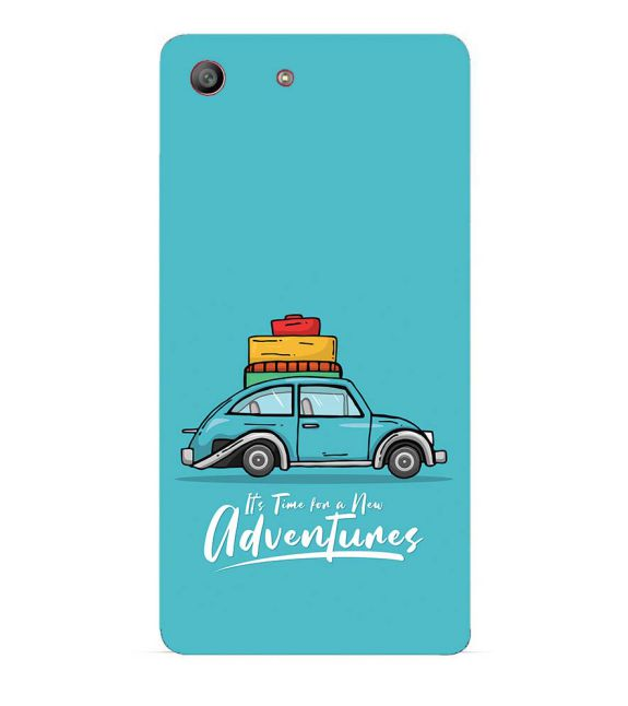 Time for Adventure Back Cover for Sony Xperia M5
