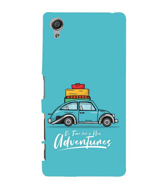 Time for Adventure Back Cover for Sony Xperia X