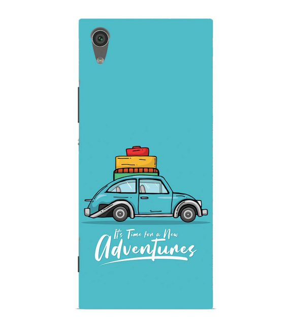 Time for Adventure Back Cover for Sony Xperia XA1 Ultra