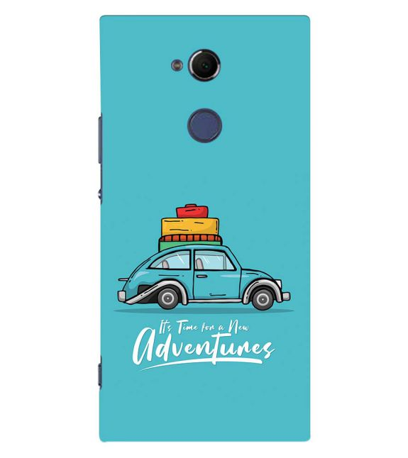 Time for Adventure Back Cover for Sony Xperia XA2 Ultra