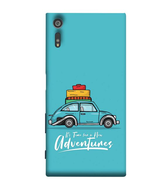 Time for Adventure Back Cover for Sony Xperia XR