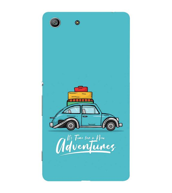 Time for Adventure Back Cover for Sony Xperia Z3 Compact