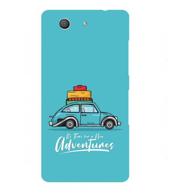 Time for Adventure Back Cover for Sony Xperia Z3+ and Xperia Z4