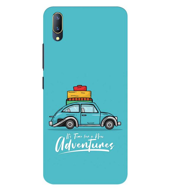 Time for Adventure Back Cover for Vivo V11 Pro