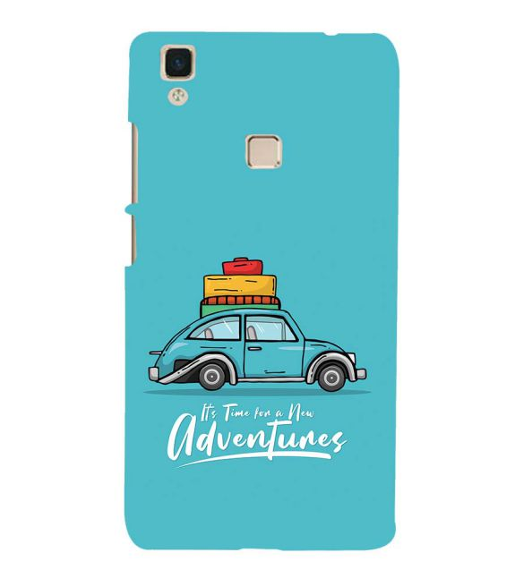Time for Adventure Back Cover for Vivo V3Max
