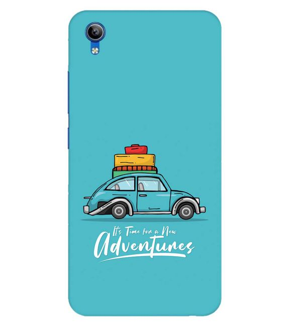 Time for Adventure Back Cover for Vivo Y91i