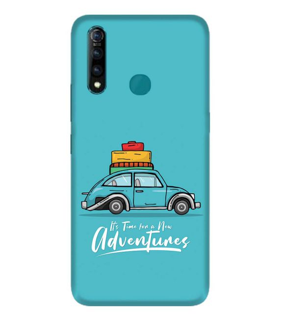 Time for Adventure Back Cover for Vivo Z1 Pro