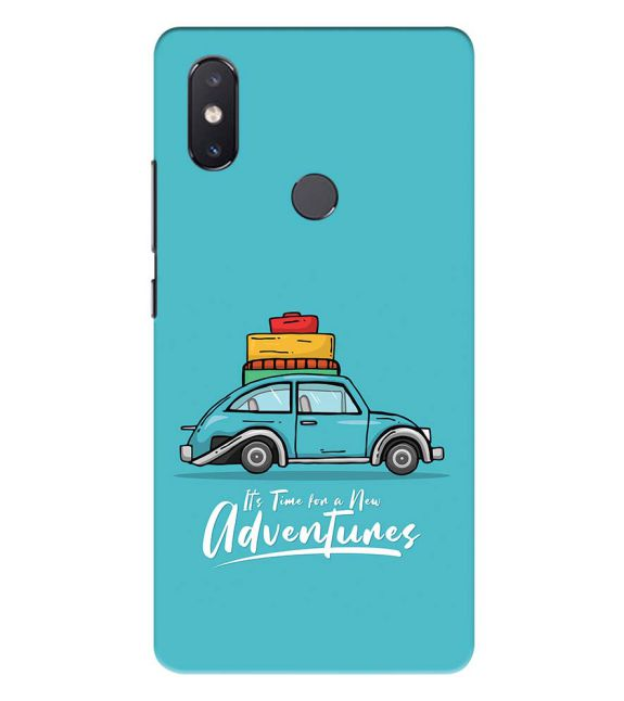Time for Adventure Back Cover for Xiaomi Mi 8